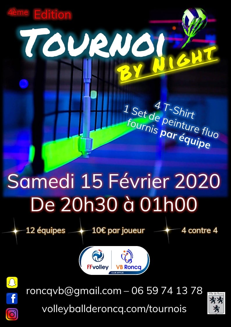 Tournoi By Night hiver 2020