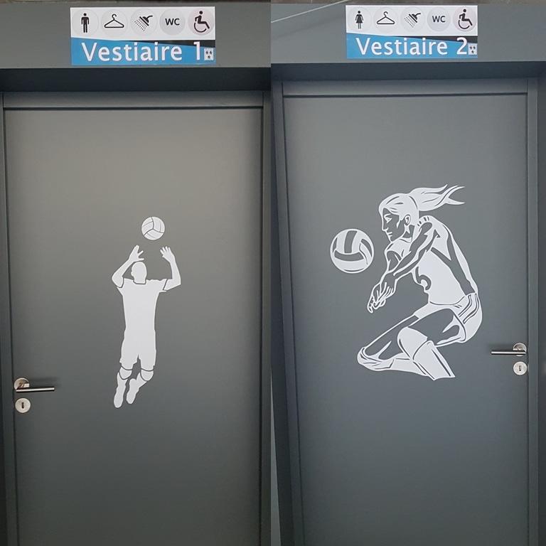 Travaux vestiaires salle stelandre volley ball de roncq 2019 2020 8